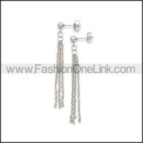 Stainless Steel Earring e002185S