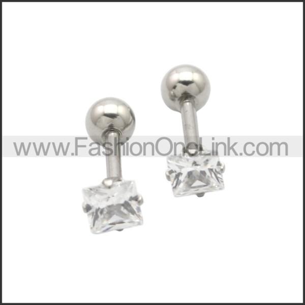 Stainless Steel Earring e002201S