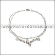 Stainless Steel Anklets ac000126S1
