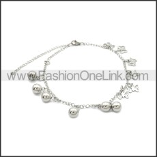 Stainless Steel Anklets ac000114S