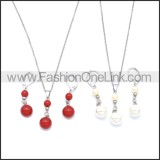 Stainless Steel Jewelry Sets s002960S