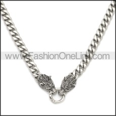 Stainless Steel Necklace n003203S