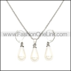 Stainless Steel Jewelry Sets s002954S