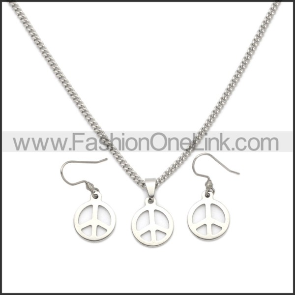 Stainless Steel Jewelry Sets s002962S