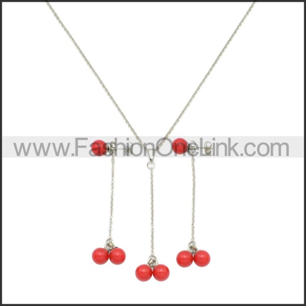 Stainless Steel Jewelry Sets s002958R