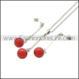 Stainless Steel Jewelry Sets s002956R