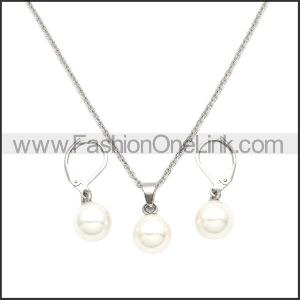 Stainless Steel Jewelry Sets s002953S2