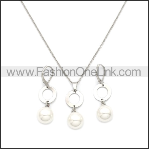 Stainless Steel Jewelry Sets s002955S