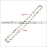 Stainless Steel Necklace n003201S