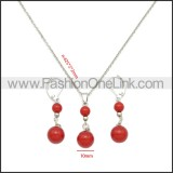 Stainless Steel Jewelry Sets s002960R