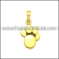 Stainless Steel Pendant p010989G