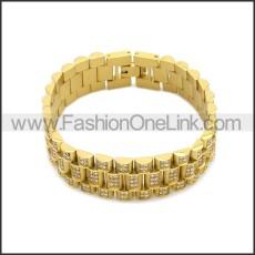 Stainless Steel Bracelet b010085G