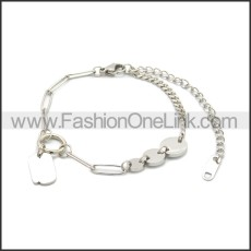 Stainless Steel Bracelet b010075S
