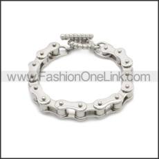 Stainless Steel Bracelet b010076S