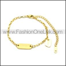 Stainless Steel Bracelet b010071G