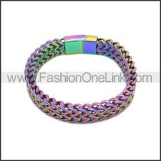 Stainless Steel Bracelet b010084C