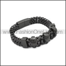 Stainless Steel Bracelet b010082H