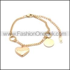 Stainless Steel Bracelet b010069R