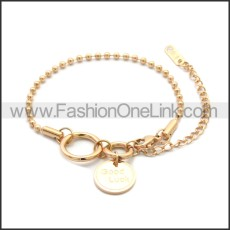 Stainless Steel Bracelet b010074R