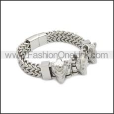 Stainless Steel Bracelet b010080S
