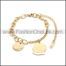Stainless Steel Bracelet b010068R