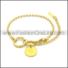 Stainless Steel Bracelet b010074G