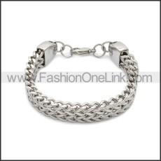 Stainless Steel Bracelet b010081S