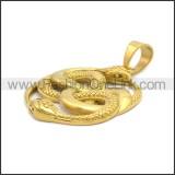 Stainless Steel Pendant p011014G