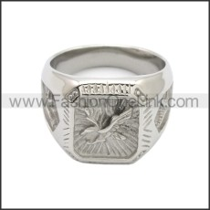Stainless Steel Ring r008766S