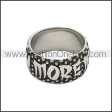 Stainless Steel Ring r008781SA