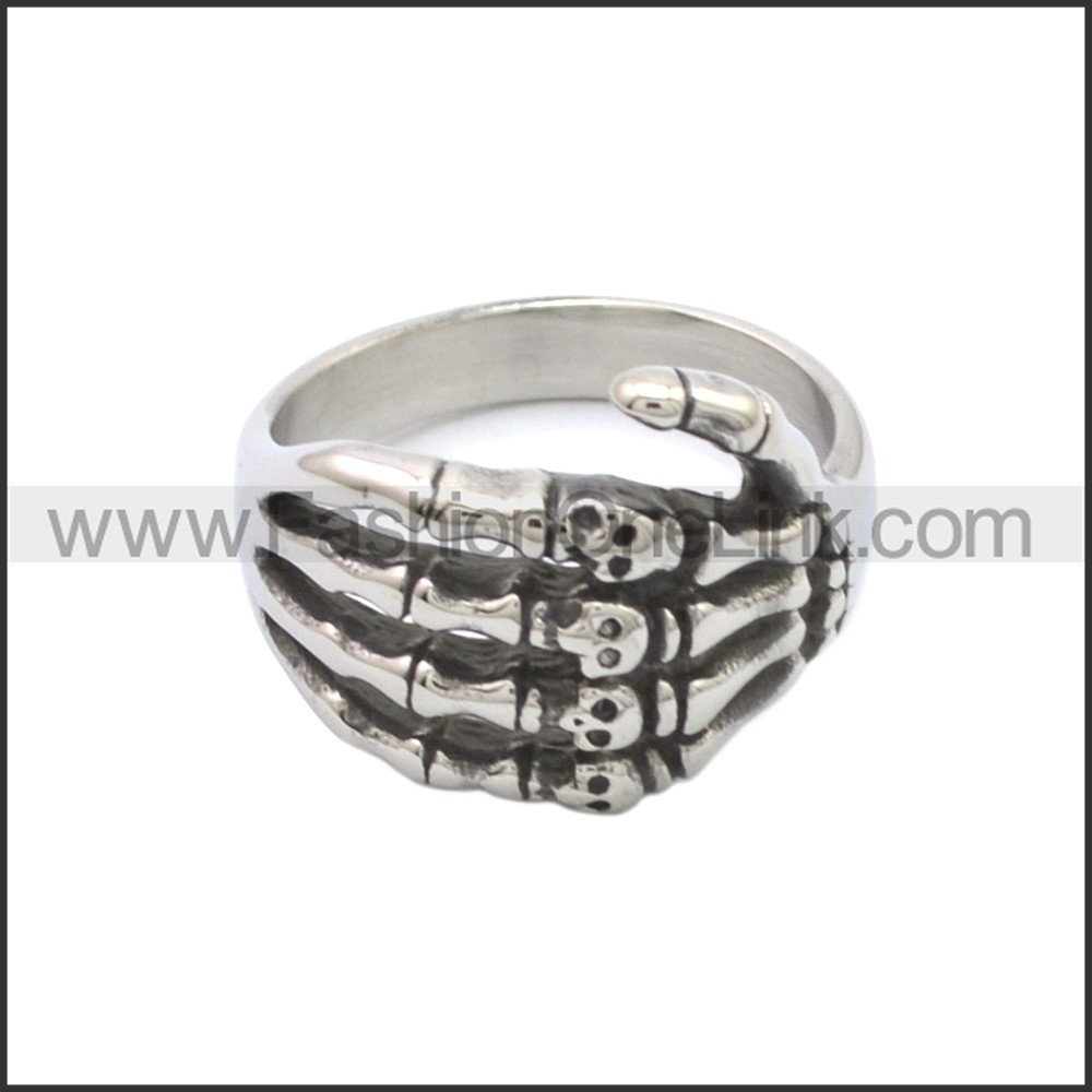 Stainless Steel Ring r008786SA