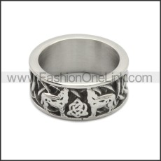 Stainless Steel Ring r008774SA