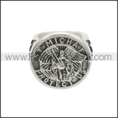 Stainless Steel Ring r008782SA