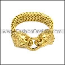 Stainless Steel Bracelet b010088G