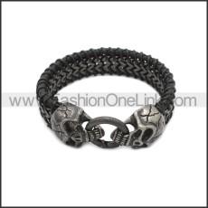 Stainless Steel Bracelet b010089AH