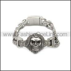 Stainless Steel Bracelet b010094S