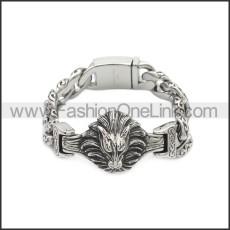 Stainless Steel Bracelet b010095S