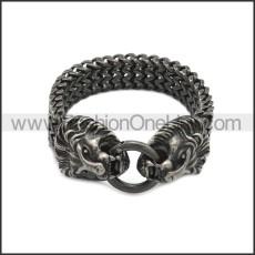 Stainless Steel Bracelet b010088A