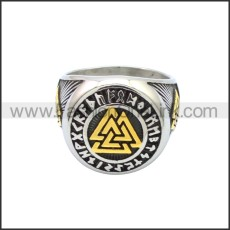 Stainless Steel Ring r008795SHG