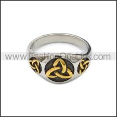 Stainless Steel Ring r008808SHG