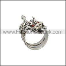 Stainless Steel Ring r008848SA