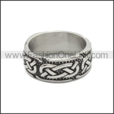 Stainless Steel Ring r008798SA