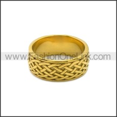 Stainless Steel Ring r008804G