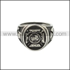 Stainless Steel Ring r008821SA