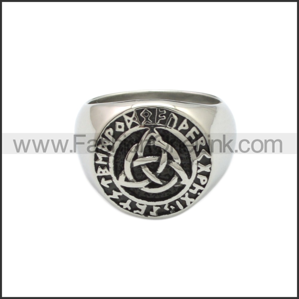 Stainless Steel Ring r008840SA