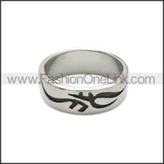 Stainless Steel Ring r008823SA