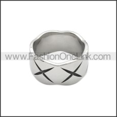 Stainless Steel Ring r008812S