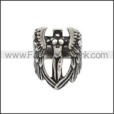 Stainless Steel Ring r008846SA