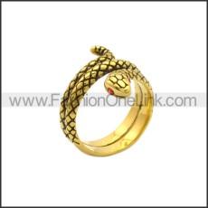 Stainless Steel Ring r008828GA1