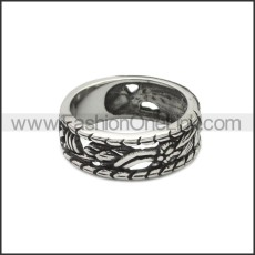 Stainless Steel Ring r008824SA